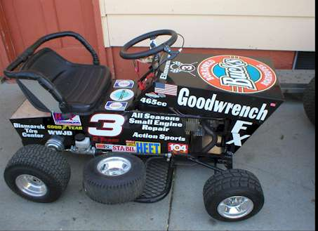 How to Build a Racing Lawn Mower - Lawns and Turf - Lawn